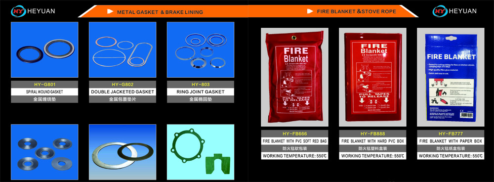 What are the characteristics of metal spiral wound gaskets?
